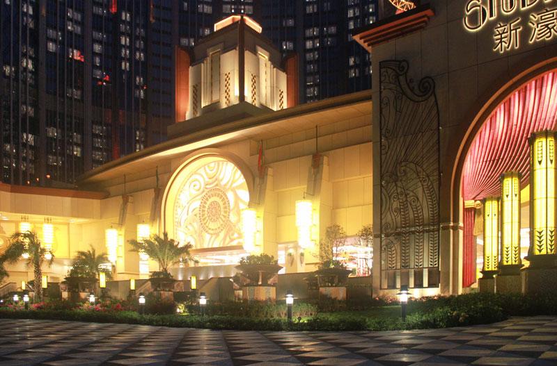 Macau Studio City Hong Kong Ligman Lighting Usa