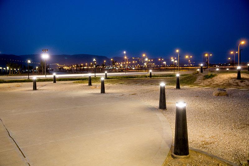 Ittin Walkway Park Ligman Lighting Usa