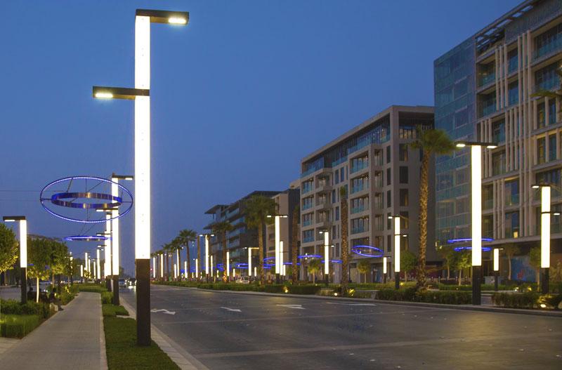 City Walk Dubai Ligman Lighting Usa