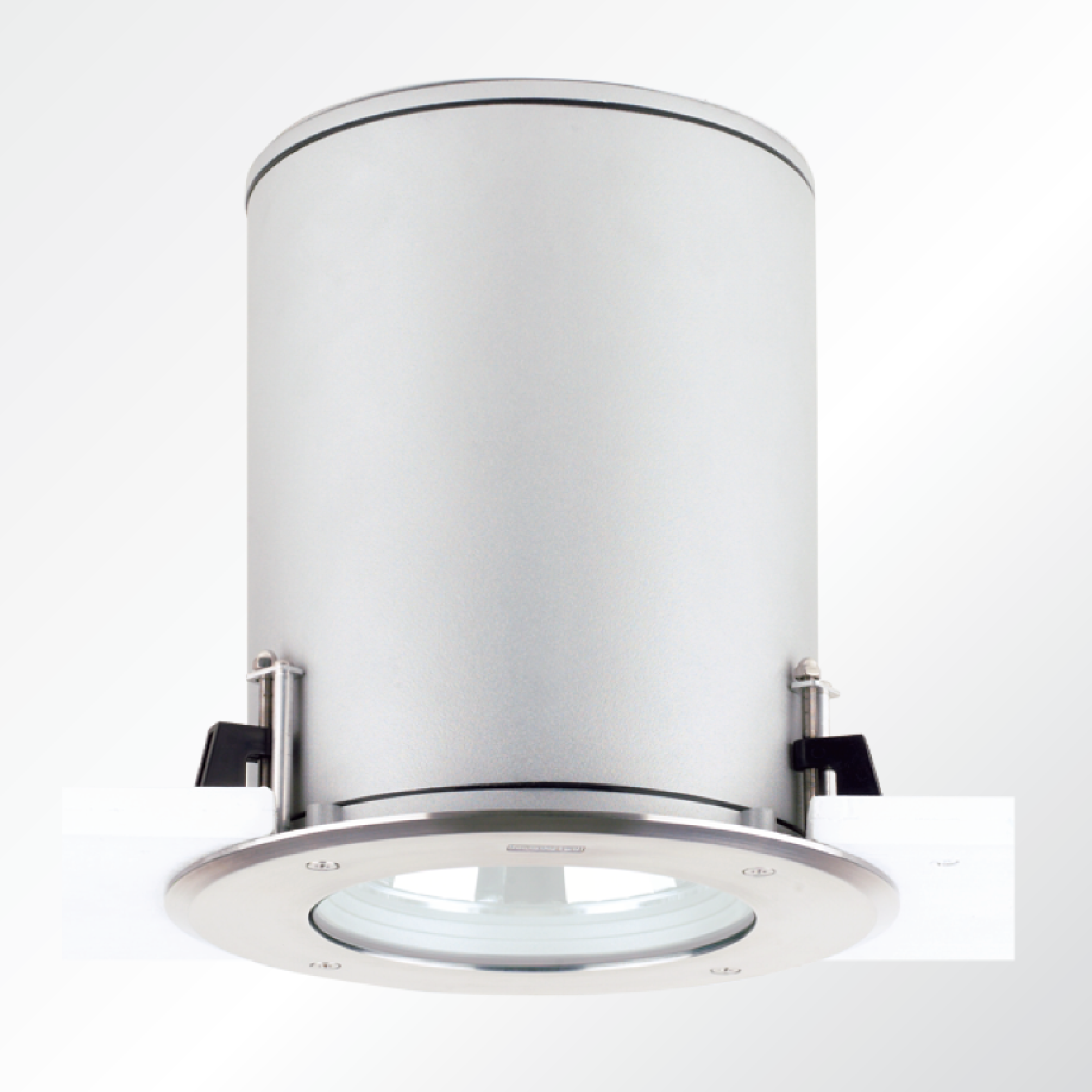 robust robust 1 2 recessed exterior downlight round dia hp