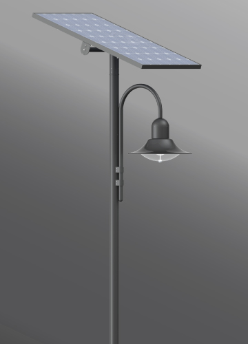 Click to view Ligman Lighting's  Atlantic Solar (model UAA-20660 Solar).