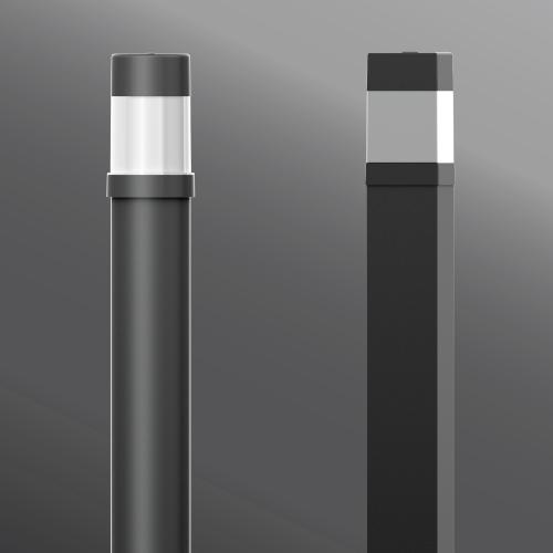 Click to view Ligman Lighting's Bamboo Bollard (model UBA-106XX).
