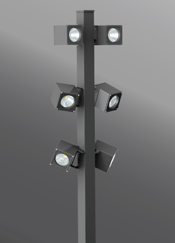 Click to view Ligman Lighting's  Jet Cluster Column (model UJE-2001X).