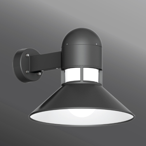 Click to view Ligman Lighting's  Columbus Medium Shade Wall Light (model UCO-3XXXX).
