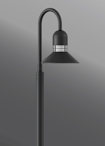 Click to view Ligman Lighting's Duomo Shepherds Crook (model UDU-20XXX).
