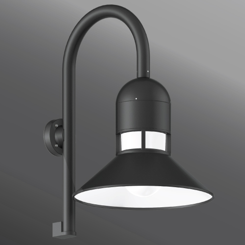 Click to view Ligman Lighting's  Columbus Shepherds Crook Wall Light (model UCO-3XXXX).
