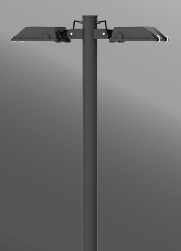 Click to view Ligman Lighting's Gandalf Streetlight,  IDA: Horizontal non-adjustable (model UGA-900XX, UGA-902XX).