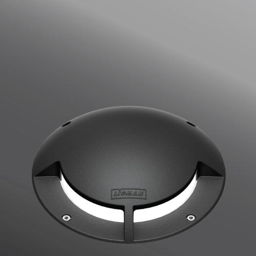 Ligman Lighting's Mask Inground Guide Light (model UMK-60XXX).