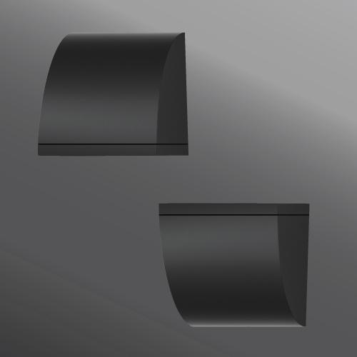 Click to view Ligman Lighting's  Quarter Wall Light (model UQU-313XX).