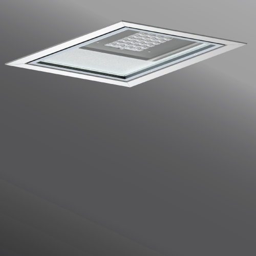 Click to view Ligman Lighting's Mustang Recessed High Bay (model UMS-91XXX, UMS-9XXXX).