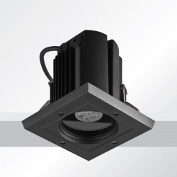 ceiling luminaires robust 6 recessed exterior downlight square