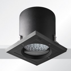 robust robust 3 recessed exterior downlight square led www