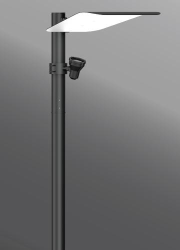 lighting column post top mic 3 indirect light column www