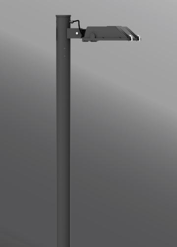 Ligman Lighting's Gandalf Streetlight,  IDA: Horizontal non-adjustable (model UGA-900XX, UGA-902XX).
