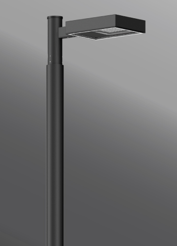 Ligman Lighting's Mustang Streetlight, IDA: Horizontal non-adjustable (model UMS-9XXXX).