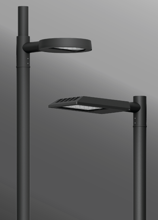 Click to view Ligman Lighting's  Steamer Street & Area Light, IDA: Horizontal non-adjustable (model USE-900XX).