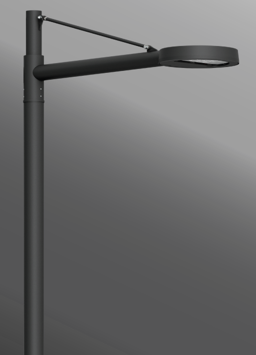 Ligman Lighting's Steamer Street & Area Light, IDA: Horizontal non-adjustable (model USE-900XX).