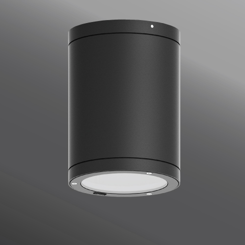 Ligman Lighting's Tango cylindrical and square surface exterior downlight dia. 6.3 (model UTA-80XXX, UTA-804XX, UTA-800XX, UTA-801XX).