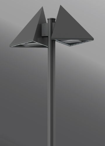 Click to view Ligman Lighting's Triangle Streetlight (model UTR-96XXX, UTR-960XX).