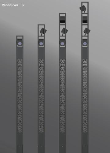 Ligman Lighting's Vancouver Light Column (model UVA-20001).