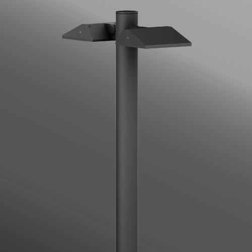 Ligman Lighting's Vekter Bollard, IDA: Horizontal non-adjustable (model UVK-100XX).