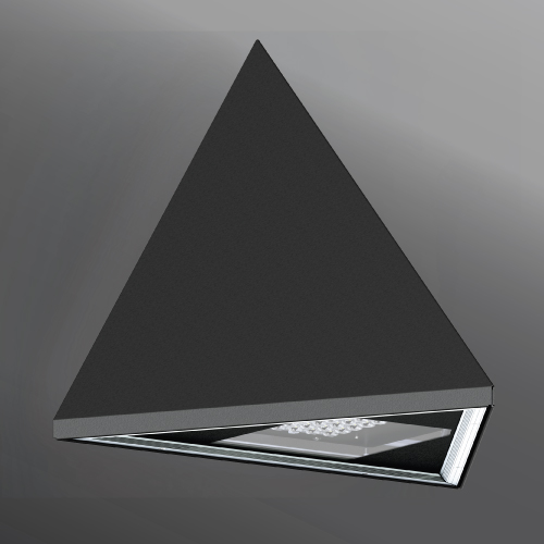 Click to view Ligman Lighting's Triangle Wall Light (model UTR-3XXXX).