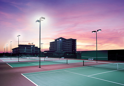 Tennis Court Lighting Mustang Tennis Court Lighting