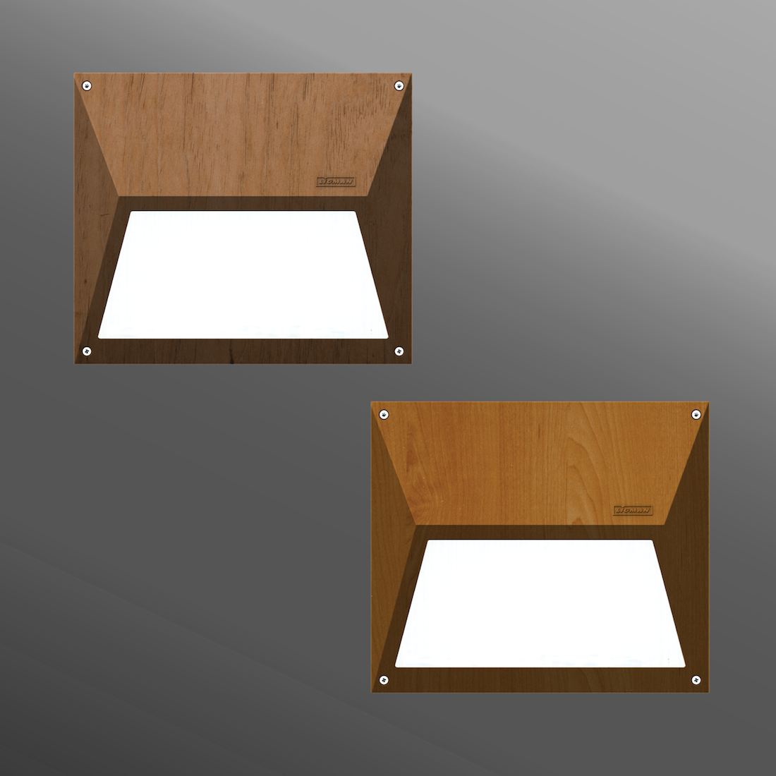 Click to view Ligman Lighting's  Eco Recessed Woodland Series (model UEC-40571).