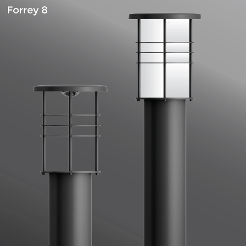 Click to view Ligman Lighting's  Forrey Bollard (model UFOR-100XX).