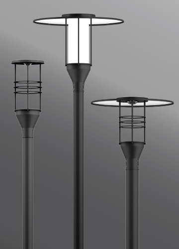 Click to view Ligman Lighting's Forrey Post Top (model UFOR-200XX).