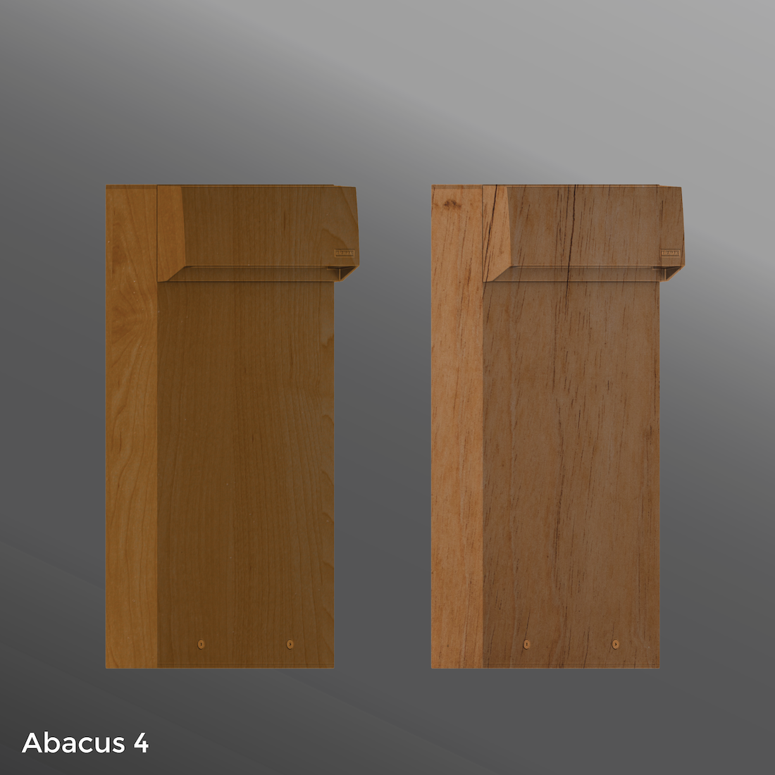 Click to view Ligman Lighting's  Abacus Bollard - Woodland Series (model UAB-100XX).