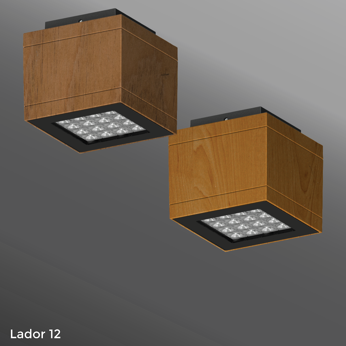 Click to view Ligman Lighting's  Lador Ceiling Light - Woodland Series (model ULD-800XX).