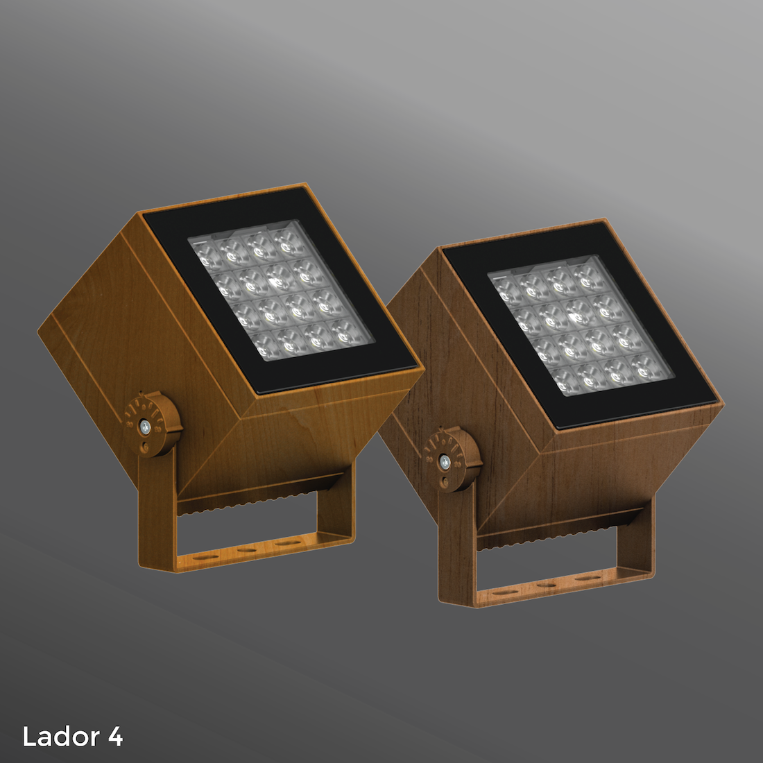 Click to view Ligman Lighting's Lador Floodlight - Woodland Series (model ULD-500XX).