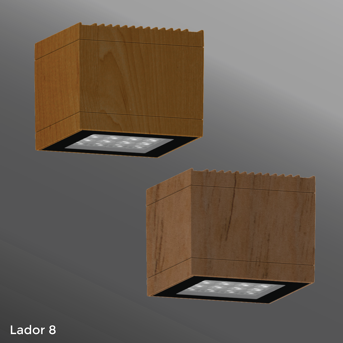 Click to view Ligman Lighting's Lador Wall Light - Woodland Series (model ULD-300XX).