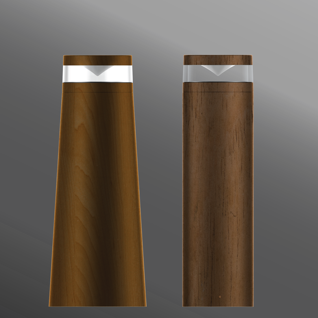 Click to view Ligman Lighting's Lightwave Bollard - Woodland Series (model ULW-108XX).
