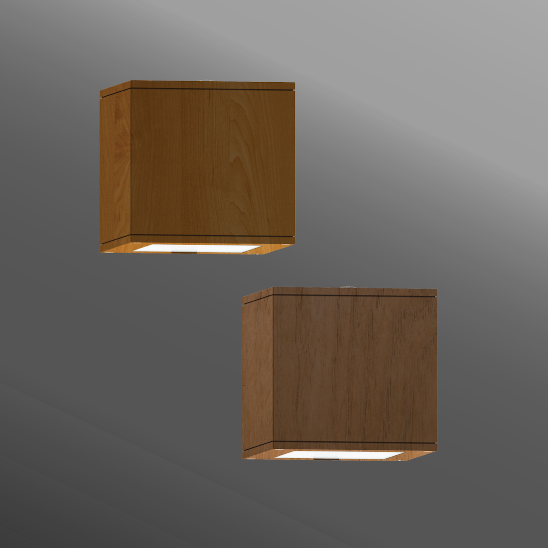 Click to view Ligman Lighting's Matrix Wall Light - Woodland Series (model UMT-313XX, UMT-314XX).