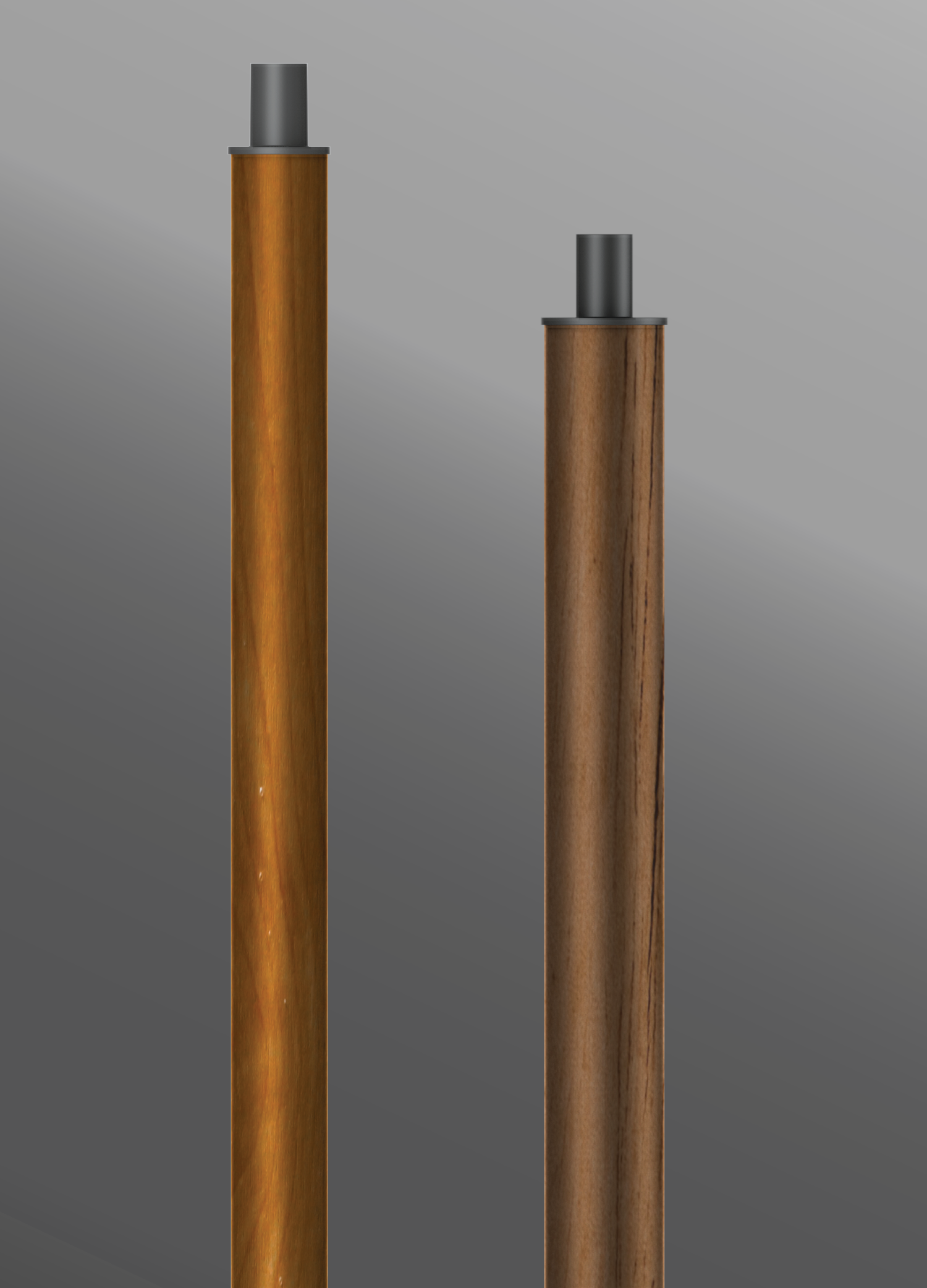 Click to view Ligman Lighting's  Round Straight Aluminum Poles - Woodland Series (model APD-RSA).